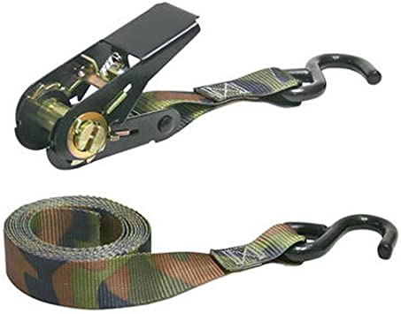 400 lbs Working Load Limit Keeper 03508-V Camo 4PK 8 Ratchets