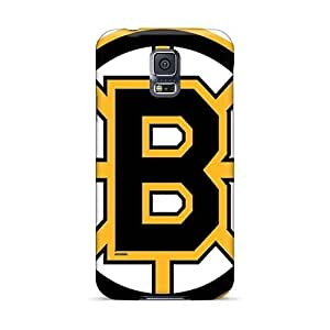 Luoxunmobile333 Samsung Galaxy S5 Durable Hard Cell-phone Case Support Personal Customs Attractive Boston Bruins Pattern [jFD1940hstL]