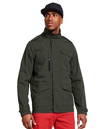 Price comparison product image Men's UA Storm C1N Phenom Jacket (Two Large Tall Size, Rifle Green)