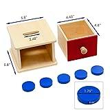 Elite Montessori Coin Box Preschool Learning