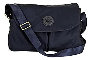 7494203259c9 Amazon.com  Tory Burch Nylon Messenger Baby Bag Tote Handbag (Tory Navy)  5496  Beauty