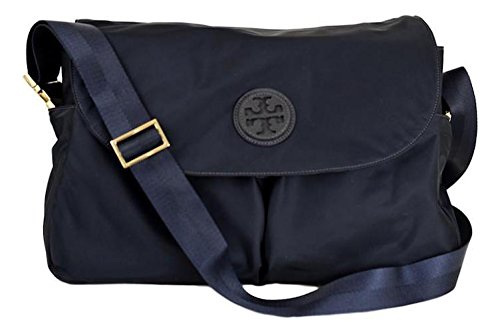 Tory Burch Nylon Messenger Baby Bag Tote Handbag (Tory - Tory Bag Gold Burch
