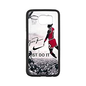 samsung galaxy s6 phone case Black for michael jordan - EERT3391089