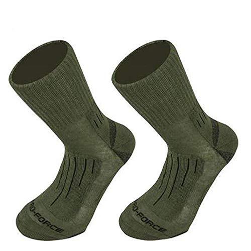 Chaussettes Crusader Coolmax Vertes - Highlander - Vert - #096A09 - L 1