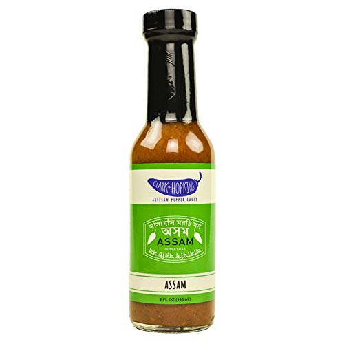 (Clark & Hopkins Artisan Pepper Sauces - Assam Hot Sauce 5oz)
