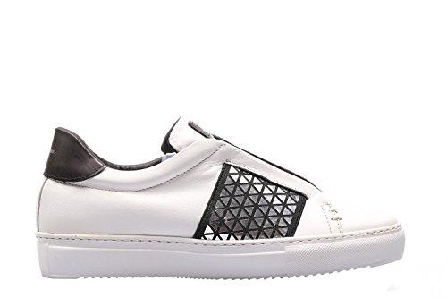 i17 Sneakers Stau Nero Riporti bianco 635 Nero Elix Vitello Bianco axq4U