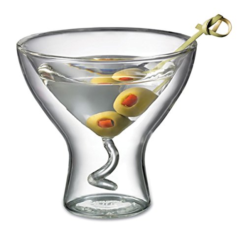 Double Wall Martini Glass - 3