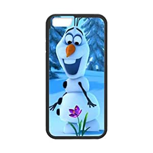 Olaf iPhone 6 Plus 5.5 Inch Cell Phone Case Black MSY236627AEW