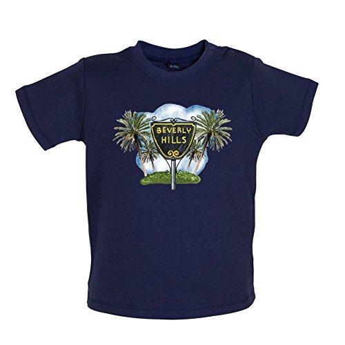 - Dressdown Beverly Hills Sign - Baby T-Shirt - Nautical Navy - 12-18M