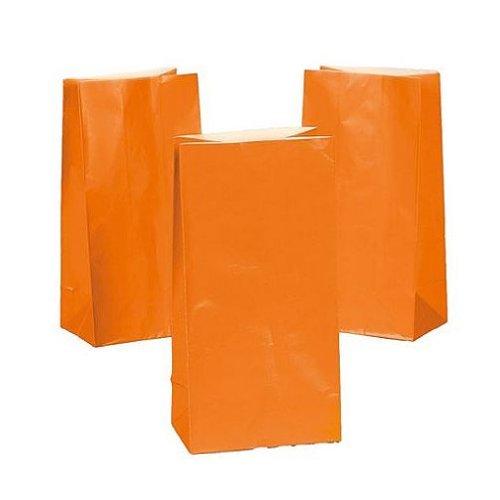 Orange Paper Bags (1