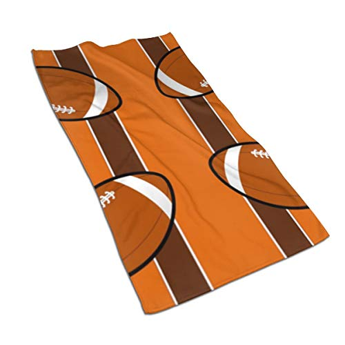 Cleveland Browns Nano - NICEBO Cleveland Browns Fabric Microfiber Towel Super Absorbent Personal Custom Wipes, Machine Washable Absorbent Towel, Kitchen Towels Dish Towels 15.7x27.5 Inches