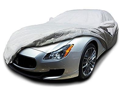 CarsCover Custom Fit 2004-2017 Maserati Quattroporte Car Cover Heavy Duty Weatherproof Ultrashield Covers