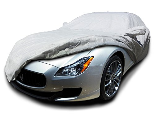 CarsCover Custom Fit 2004-2018 Maserati Quattroporte Car Cover Heavy Duty Weatherproof Ultrashield Covers
