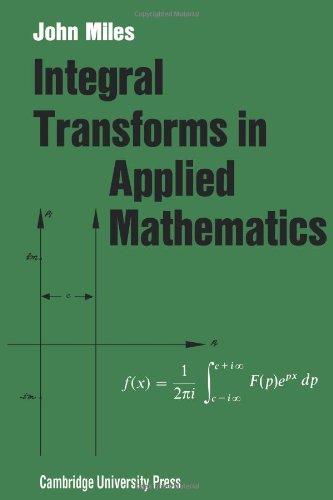 Integral Transforms in Applied Mathematics