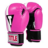 Title Boxing Classic Exceed Boxing Gloves, Hot Pink/Black, Regular