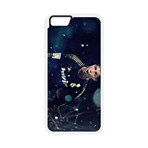 Real-Madrid-Black iPhone 6 4.7 Inch Cell Phone Case White WS0250124
