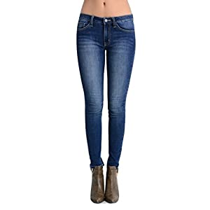 Kan Can Women's Skinny Jeans