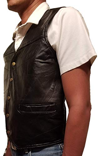 (Garrison Grip CCW Genuine Leather Ambidextrous Concealed Carry Vest (Medium (42