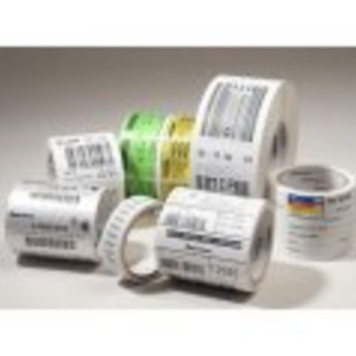 Intermec E04812 Media Duratran II Top-Coated Label, Thermal Transfer, Consumables, 3.25'' x 2'' Size, 3'' Core, 8.38'' Outer Diameter (Pack of 4)