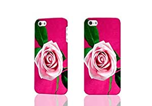 Protector With Special Pink Roses Hot For SamSung Galaxy S4 Mini Case Cover