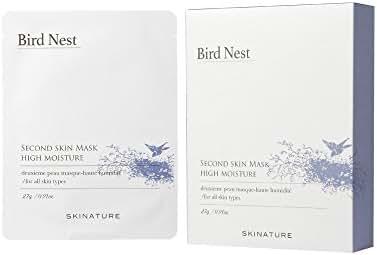 [SKINATURE] Bird Nest Skin Mask High Moisture (x10pcs)