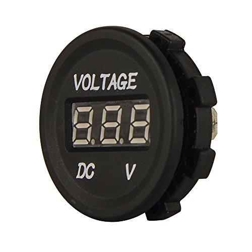 XYZ Boat Supplies Volt Voltage Meter Voltmeter for Boat/Rv/Car/Motor-home - External Mount