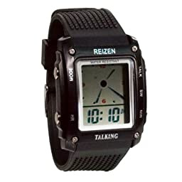 Reizen Talking Analog-Digital Watch- English
