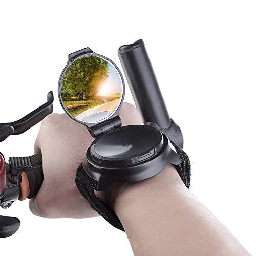 Gobesty Fietsspiegel, armband, achteruitkijkspiegel, 360 graden draaispiegel, achteruitkijkspiegel…