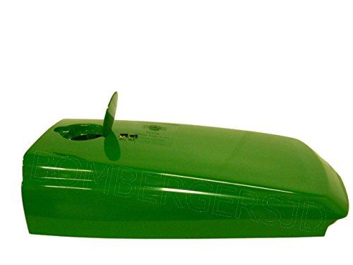 Genuine John Deere Hood with fuel door 4500 4510 4600 4700 4710 tractor LVU12063