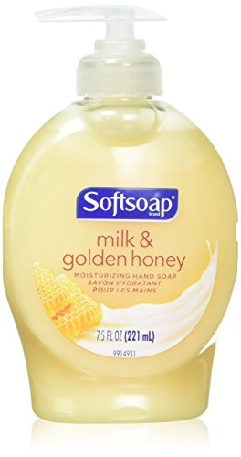 Softsoap Naturals Moisturizing Liquid Hand Soap with Milk & Honey, Pump - 7.5 fl oz (Pack of 6)