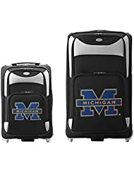 NCAA unisex-adult NCAA 2-Piece Luggage Set