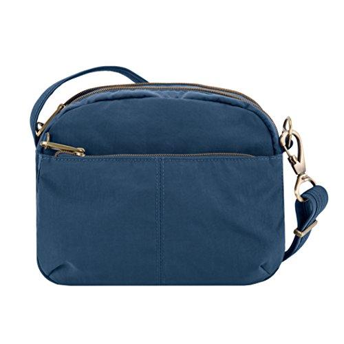 Travelon Anti-theft Signature E/W Shoulder Bag, Ocean