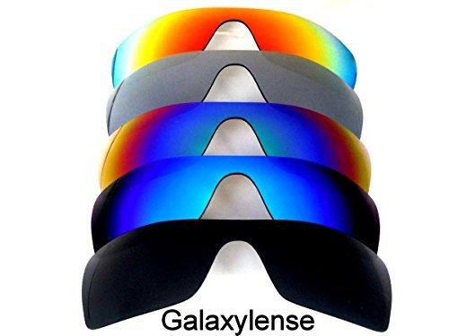 Galaxy Lentes De Repuesto Para Oakley Batwolf Negro, gris, azul, verde y rojo