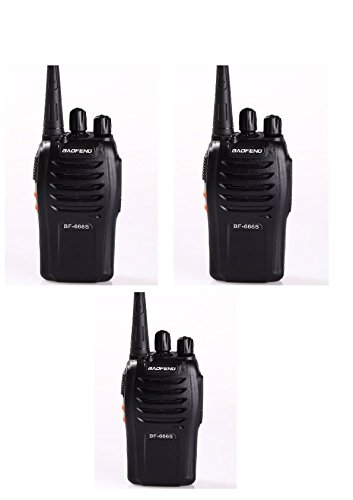 Baofeng BF-666S Walkie Talkie FM Transceiver - 3