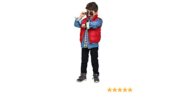 Amazon.com: Back to the Future Marty McFly Toddler Costume, 18 Months: Clothing