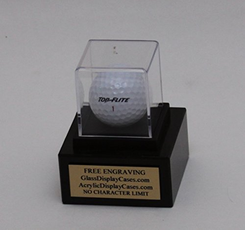 - Golf Ball Hole in One Acrylic Display Marble Base