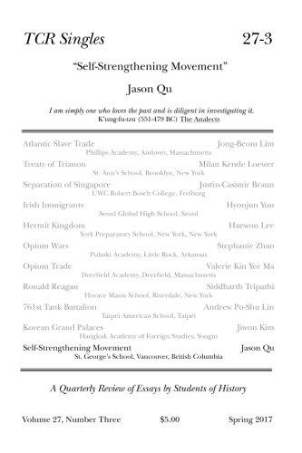 Download TCR Singles 27-3 Self-Strengthening Movement (Volume 27) ebook