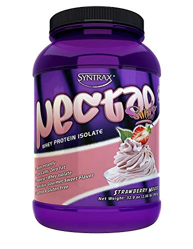 Syntrax Nectar Sweets Strawberry Mousse 2 Pound