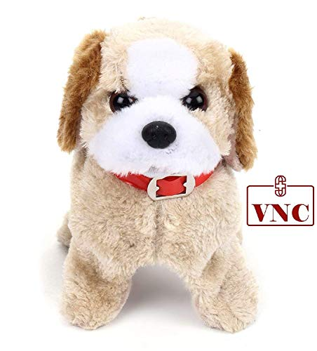 VNC Soft Toy Fantastic Puppy Battery Operated Back Flip Jumping Dog Jump Run Toy Kid