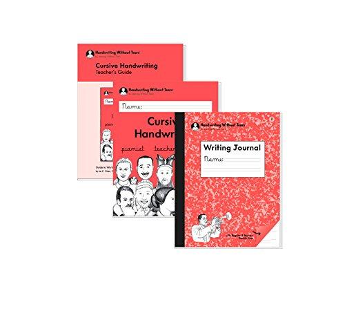 - HWT Handwriting Without Tears Third Grade Set- Contains Teachers Guide, Cursive Handwriting Workbook & Writing Journal D