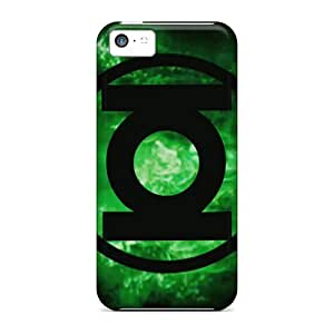 Protector Hard Cell-phone Case For Iphone 5c (oYt6243UOhL) Support Personal Customs Realistic Green Lantern Corps Skin
