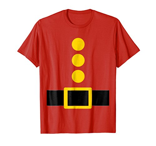Mens Dwarf Costume T-Shirt Funny Halloween Gift XL Red -