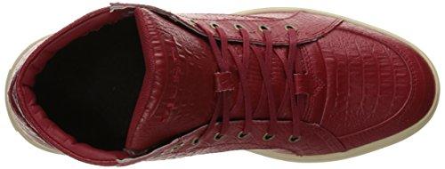 Diesel Heren Fashionisto S-groove Mid Fashion Sneaker Chili Peper