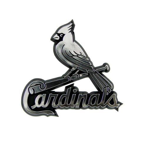 (St. Louis Cardinals Chrome Auto Emblem)