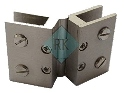 Buy Rkbrass Glass Door Hinges Online At Low Prices In India Amazon