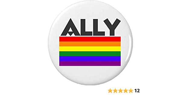 Ally Gay Pride Flag Embroidered Patch