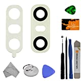 Camera Lens for LG G6 (White) (Glass) with Tool Kit
