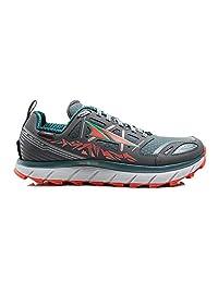 Altra Footwear Women's Lone Peak 3.0 Neoshell Trail Running Shoe,Gray/Blue,US 10