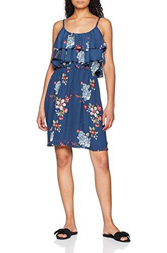 Femme Jeans Pepe Multicoloremulti Bleu 0aa Robe Flora SzpUMV