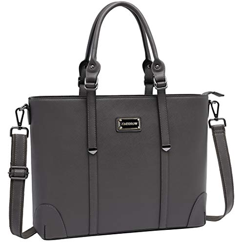Laptop Bag for Women, Superior Laptop Tote Bag Computer Briefcase Fits up to 15.6 Inch Laptop for Women Work Office Business School Travel by ZMSnow